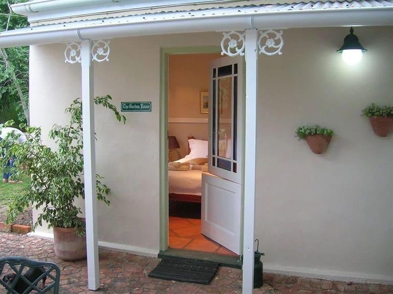 The Garden Room entrance