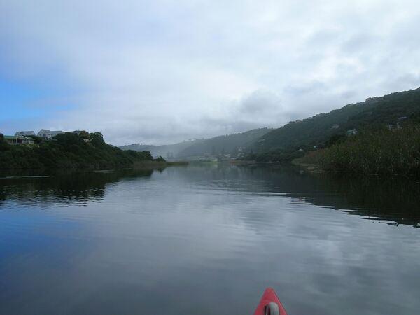 Touw River lagoon