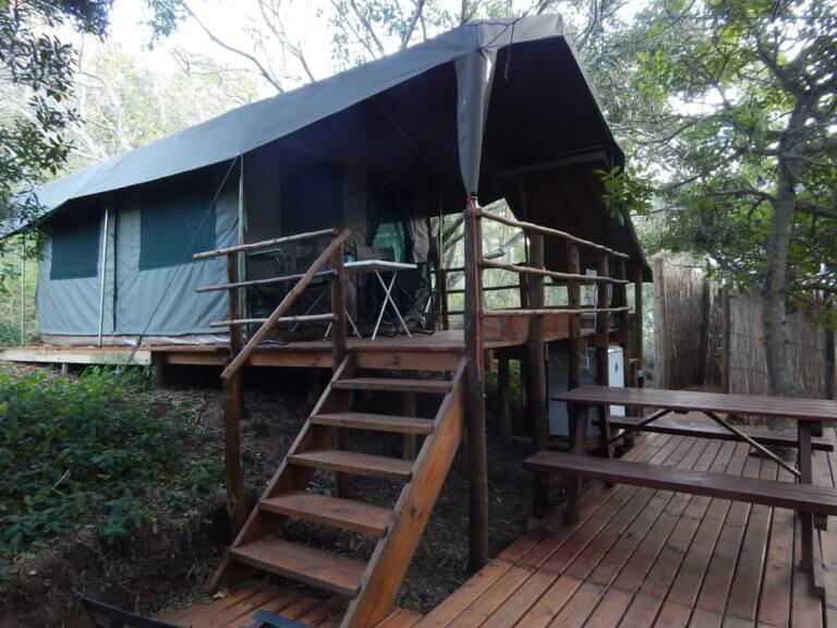Woodcutter's Bush Camp luxury tent