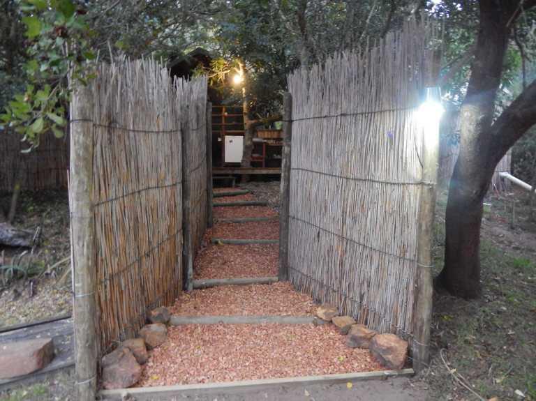 Walkway to Woodcutter's Bush Camp
