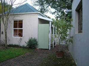 Self-catering accommodation in The Garden Room exterior view